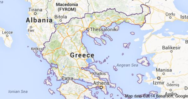 Greece Map Of Greece 2014 Google Maps Navigation General