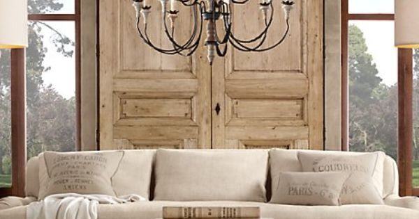 Decorative Pillows Restoration Hardware : that. coffee table. and the throw pillows, please. get in my house Pinterest Restoration ...