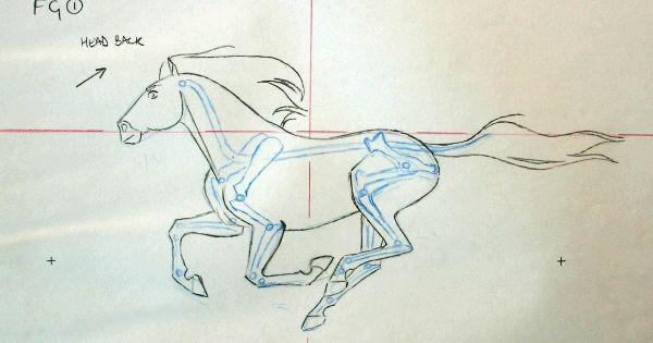 Character Design Analysis : Animation analysis james baxter horse run cycle