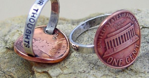 DIY Penny Ring. I'll have to add this to mine and my