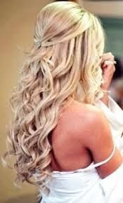 Rustic Country Wedding Hairstyles Saved By Chrissy Kapp Blair Pinterest Com Curly Hair Styles Hair Styles Wedding Hairstyles For Long Hair