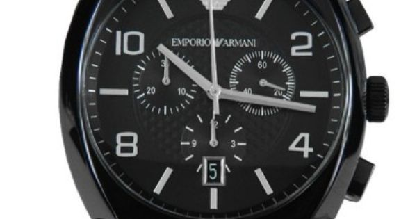 emporio armani herren chronograph armband uhr ar0349 emporio armani uhren pinterest. Black Bedroom Furniture Sets. Home Design Ideas