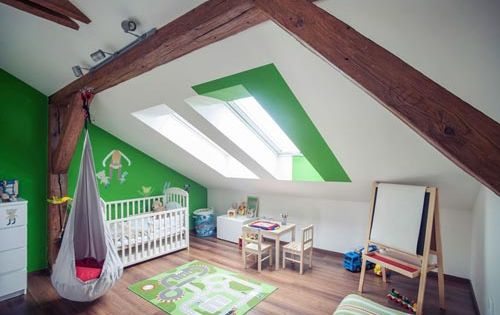 5 kinderkamers op zolder interieur inrichting idee n for Kleur mijn interieur
