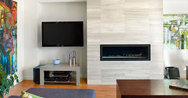 Fascinating Fireplace Tiles In The Living Room Beautiful Combined With Gray