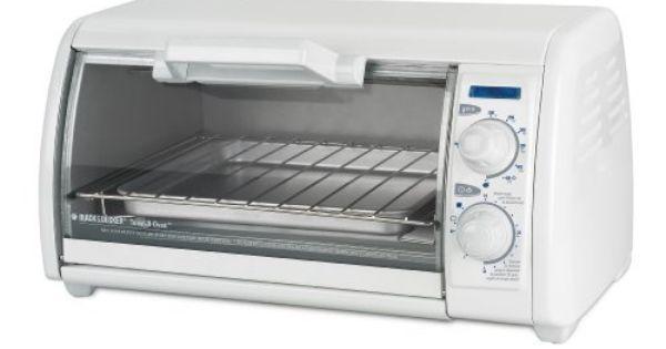 Black Decker Tro420 Toast R Oven 4 Slice Countertop Oven Broiler