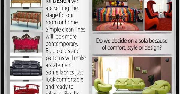 Explore Sofa Styles With Sue Designer Scrapbooks