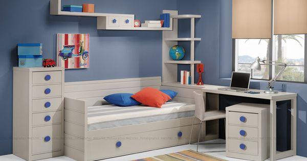 Dormitorios habitaciones juveniles e infantiles lacadas - Dormitorios juveniles segunda mano madrid ...