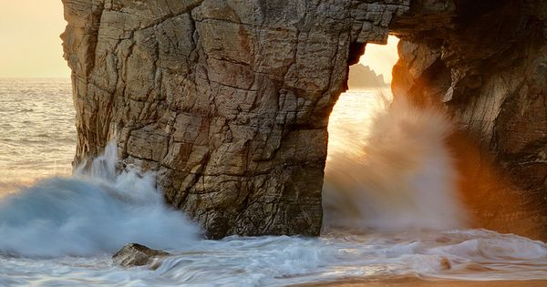 Peninsula of Quiberon, Brittany, France. Wonderful picture!