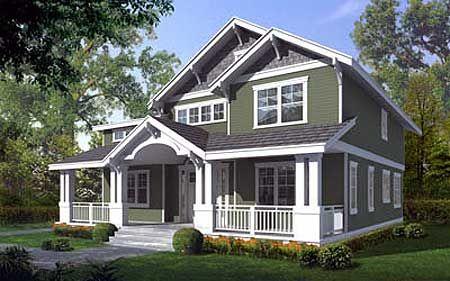 Plan 75041dd Craftsman Style House Plans Craftsman House Plans Bungalow House Plans