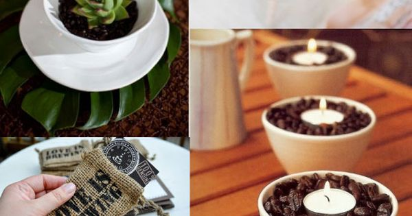 Coffee Mocha Latte Wedding Inspiration Board