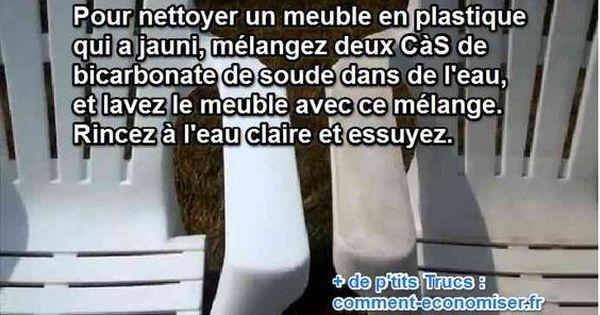 L Astuce Pour Raviver Les Couleurs De Vos Meubles Plastique Meuble Plastique Astuce Menage Astuces Pour Nettoyer