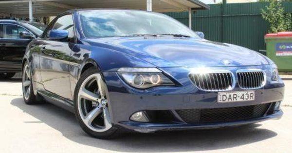 2008 Bmw 650i E63 My08 50i Deep Sea Blue Automatic 6sp A
