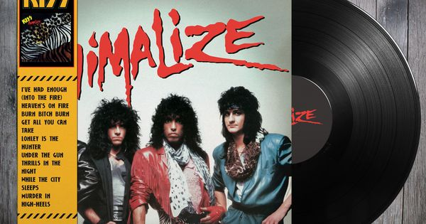 Kiss Animalize Alternative Cover Hard Rock And Heavy