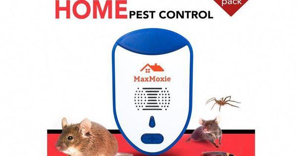 2018 Ultrasonic Pest Repeller Humane Mice Control Newest Electronic Insect Repellent 2 Pack Easiest Way TO Reject Rodent Bed Bug Mosquito Fly Cockroach Spider Rat Home Animal No Kill Plug In MaxMoxie