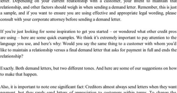 Sending A Demand Letter from i.pinimg.com