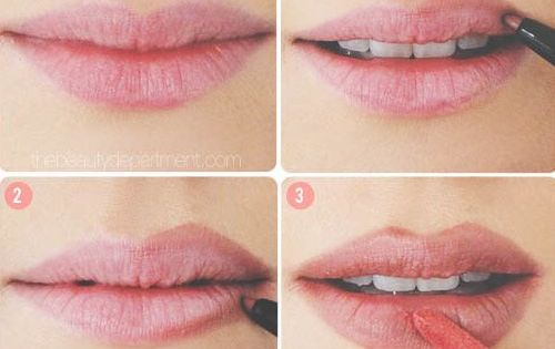 Bigger lips! 32 Makeup Tips That Nobody Told You About