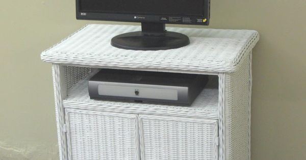 Wicker Tv Stand White Wicker Tvs And Furniture