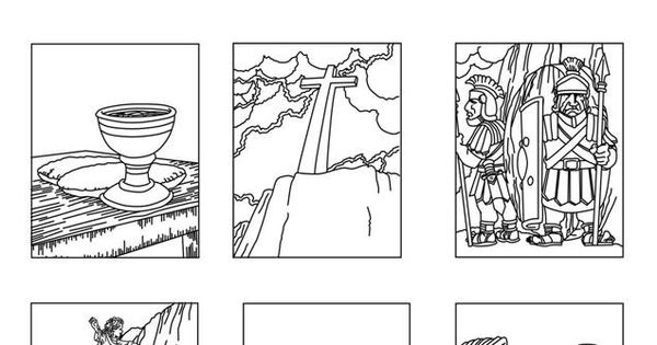 death and resurrection coloring pages - photo#8
