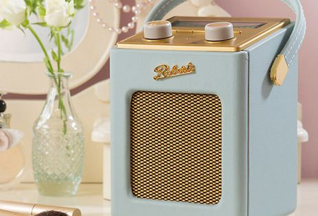 roberts vintage style revival mini dab fm radio is a john lewis exclusive radio pinterest. Black Bedroom Furniture Sets. Home Design Ideas