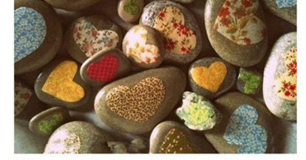 So many painted rock ideas.
