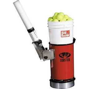 Lobster Ball Bucket 201 A Bucketful Of Tennis Ball Machine Fun Tennis Ball Machines Tennis Ball Tennis