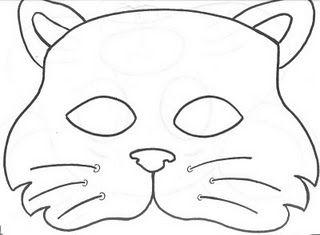 Mascaras De Animais Para Imprimir Chapeus De Animais Mascaras