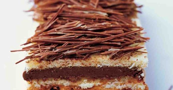 Genoise Torte with Chocolate- and Praline-Caramel Mousses ...