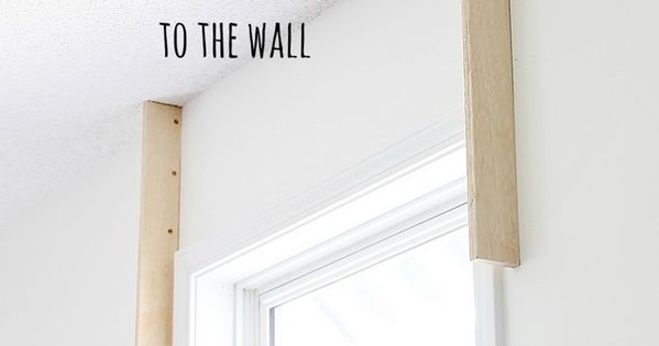 How To Build A Cornice Board Cornice Boards And Plywood