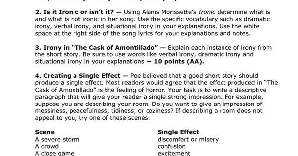 Short literary essay thesaurus