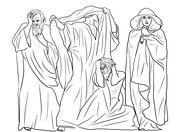 Prophets Zephaniah Joel Obadiah And Hosea Coloring Page