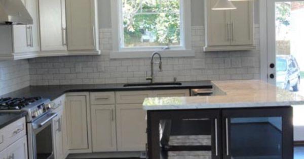 Finished hays home kitchen craftsman home builder for Craftsman home builders charlotte nc