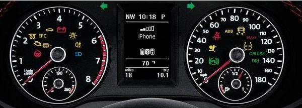 Visit Your Local Volkswagen Dealer Near La Cienega Nm Volkswagen Warning Lights Indicator Lights