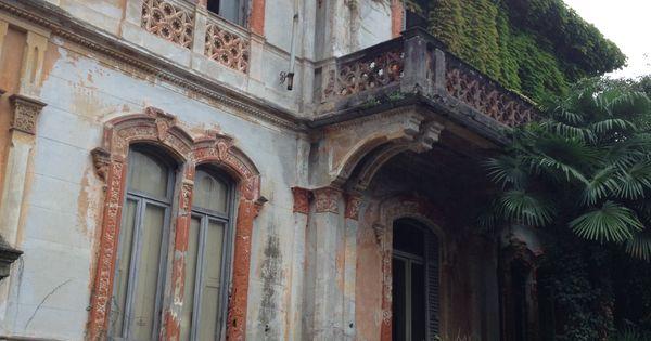 Villa abbandonata sul lago maggiore italia il giardino for Case abbandonate italia