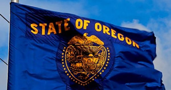 Oregon State Flag Oregon State Flag Flags Of The World State Of Oregon