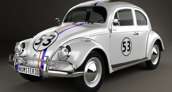Volkswagen Beetle Herbie The Love Bug 1963 Volkswagen Beetle Volkswagen Tv Cars