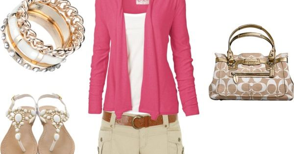 blushing summer, created by shauna-rogers on polyvore. fashion style Fat Face Jane Norman-----love love love it