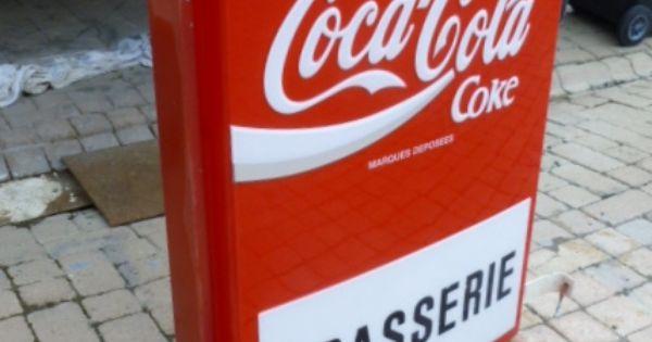 Grande enseigne lumineuse coca cola 1980 creation - Meuble coca cola ...