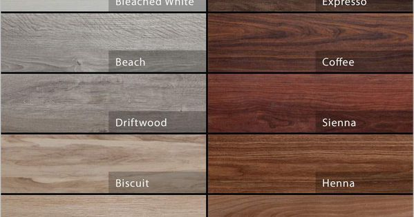 Minwax Stain Chart Advanta Envee Loose Lay Wood Planks
