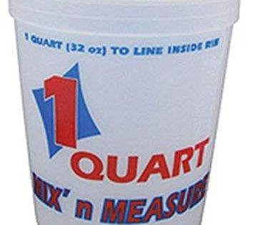 Encore Lt41032 1 Quart Mix N Measure Container Measuring Containers Container Plastic Containers