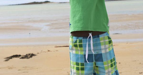 Long Board Shorts pattern by Make it Perfect