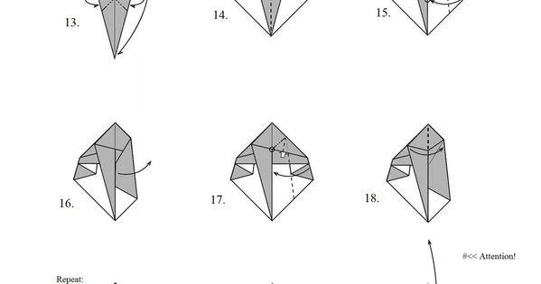 tutorial origami  kunai by mahou