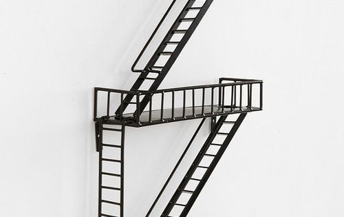 Cjwho Fire Escape Wall Shelf By Urban Outfitters The