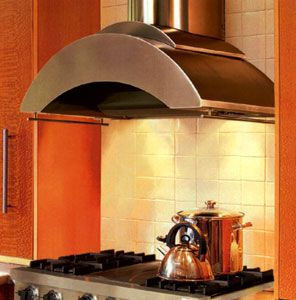 Zth 236 Vent A Hood Contemporary Wall Mount Hood 600 Cfm With Glass Accents Stainless Steel 36 Wid Range Hood Wall Mount Range Hood Stainless Range Hood