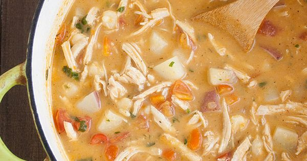 Chipotle Chicken Chowder Recipe- CookingLight