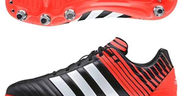 Adidas Regulate Kakari Sg Black Black Rugby Boots Boots Sport Shoes