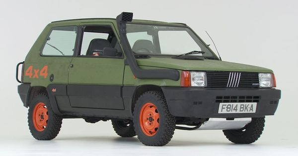 1989 Fiat Panda 4x4 To Be Featured On Wheeler Dealers