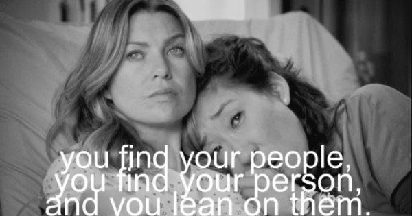 Your my person inspired by Greys Anatomy tv show dark and twisty. Im a greysaholic