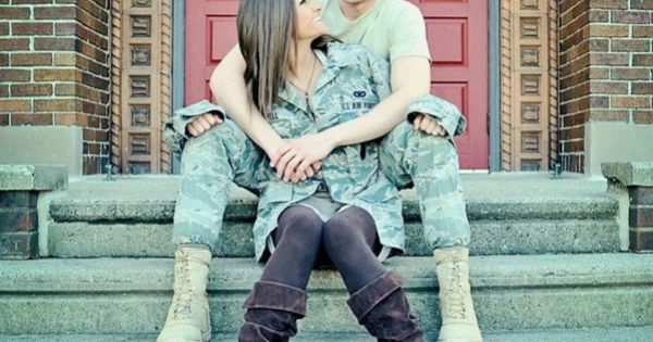 Military dating and love