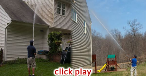 Cyclone Window Cleaning Offers Low Pressure House Washing To Eliminate Surface Dirt And Mold House Wash Pressure Washing Window Cleaner