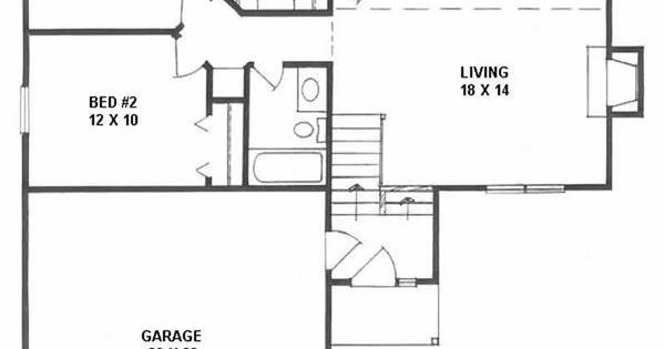 Traditional Multi Level House Plans Home Design Adg 968